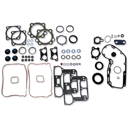 Complete Gasket Kit, 883cc models from 2007-16 (Fire Ring Head Gasket, Paper Base Gasket)