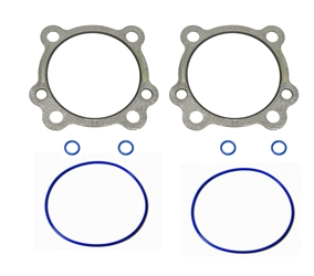 "Head and Base Gaskets Twin Cam 95, 103, & 110 3 7/8"" .030 1999-18"