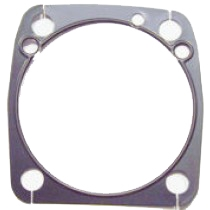 "Gasket, Cylinder base, EVO 3 5/8"" bore, Front & Rear, .020"" Metal with Bead, 1984-99"