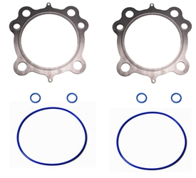 "Head and Base Gaskets Twin Cam 95, 103, & 110 3 7/8"" .030"" 1999-16 (Multi Layered Steel)"