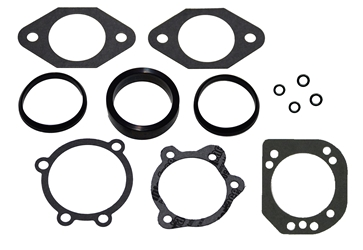 Intake and Fuel Injector Gasket Kit, Fits Big Twin EVO Models 1992 Thru 1999