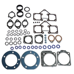 "Top End Kit Fits, Shovelhead 3 5/8"" Bore and S&S Comparable Cylinders (Teflon Head Gasket, Paper Base Gasket)"